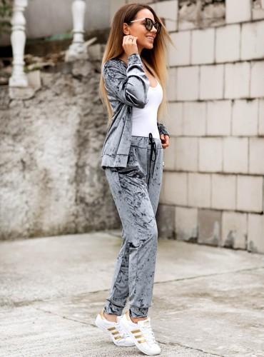 Spodnie SHINE - grafitowe