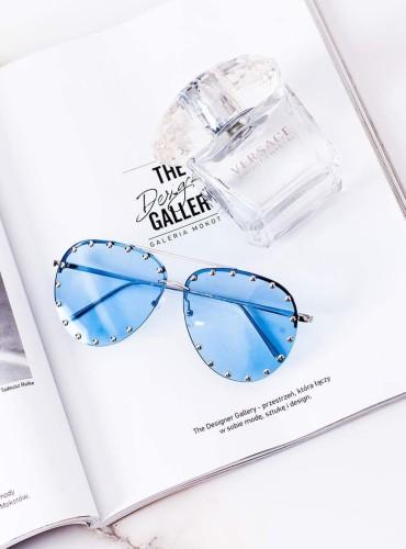 Okulary 16 - like LV niebieskie