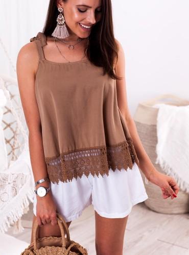 Bluzeczka BIANCA - camel