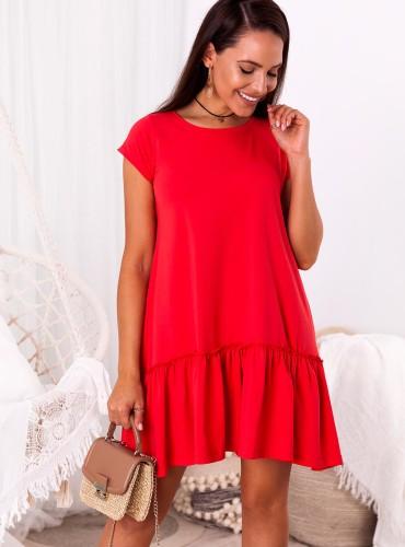 Sukienka Jupiter summer - Czerwona