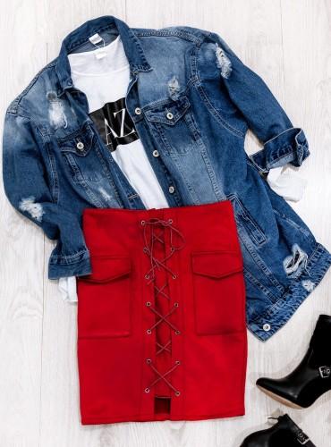 Spódniczka JOY - czerwona