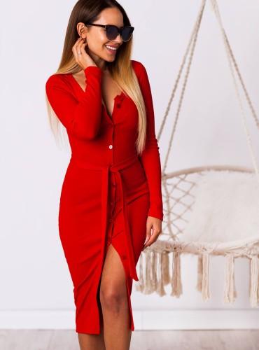 Sukienka KASSIDY - czerwona