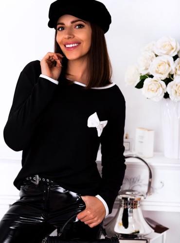 Bluzka MATILDA - czarna