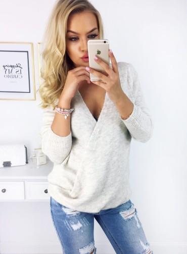 Sweterek RILEY - beżowy