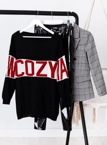 Sweterek COZY - czarny