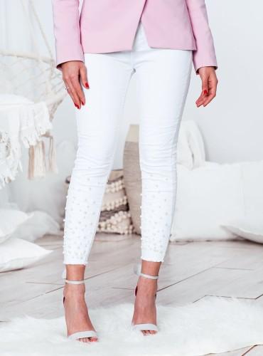 Spodnie Pearl - białe