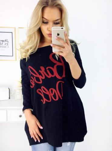 T-shirt BARBIE DOLL - czarny