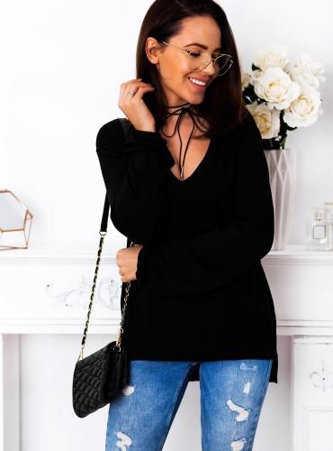 Bluzeczka LEIA - czarna