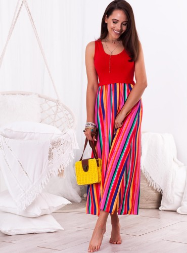 Sukienka VIVA - czerwona