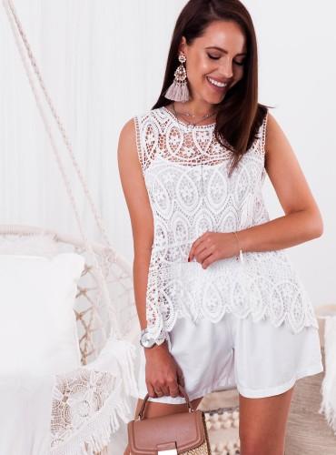 Bluzeczka ALEXA - biała