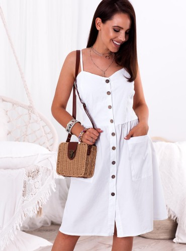 Sukienka GOLDA - biała