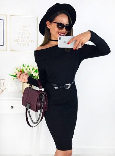 Sukienka LARESA - czarna