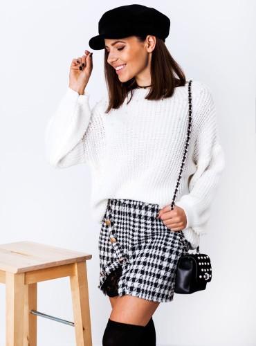 Sweterek MELODY - kremowy