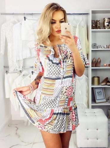Sukienka MANIA PRINT