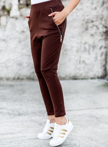 Spodnie KANI - brązowe