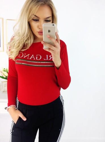 Koszulka GIRL GANG - czerwona