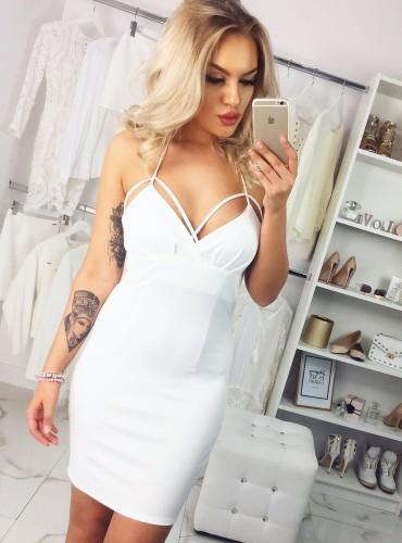 Sukienka DOLL kremowa