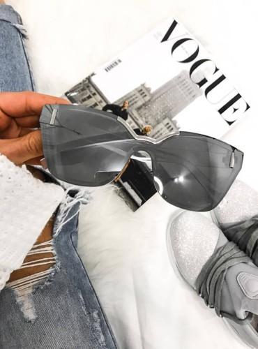 Okulary 4 - srebrne