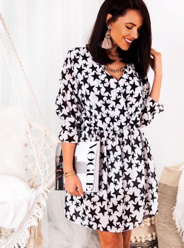 Sukienka STARDUST - czarna