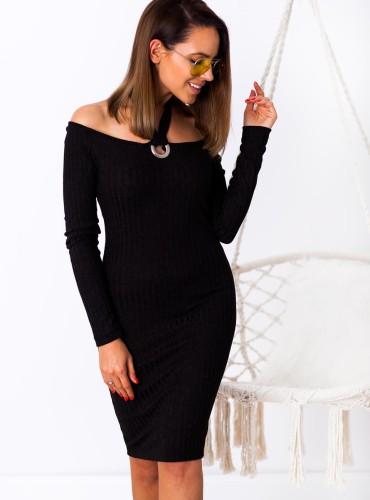 Sukienka PALOMA - czarna
