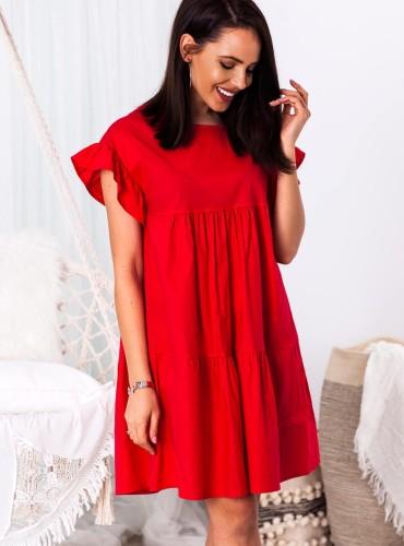 Sukienka BALI II - czerwona