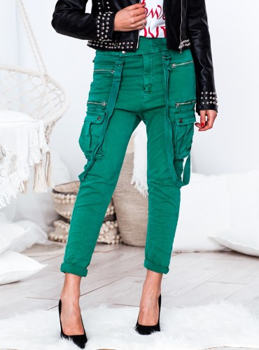 Spodnie Boy - zielone