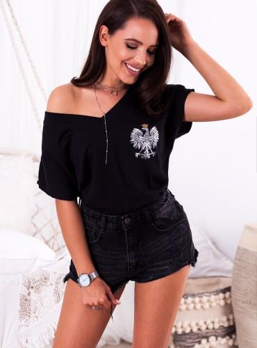 t-shirt EAGLE II - czarny