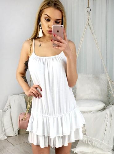 Sukienka LILIA - biała