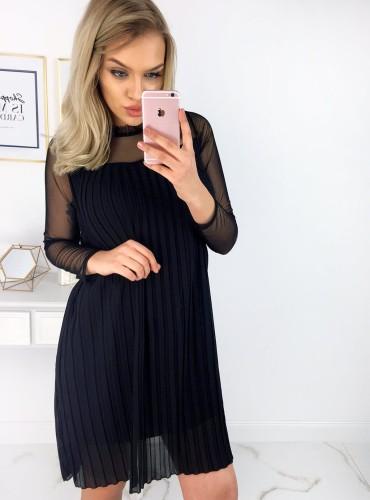 Sukienka LUNA - czarna