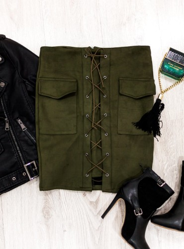Spódniczka JOY - khaki