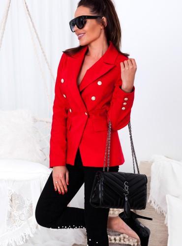 Marynarka Olivia - czerwona