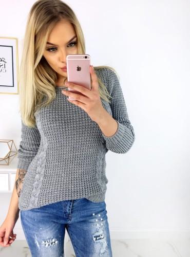 Sweterek ALIANA - szary