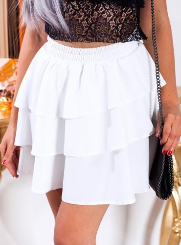 Spódniczka Azalia - biała