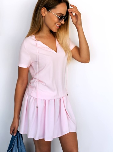 Sukienka DONA - baby pink