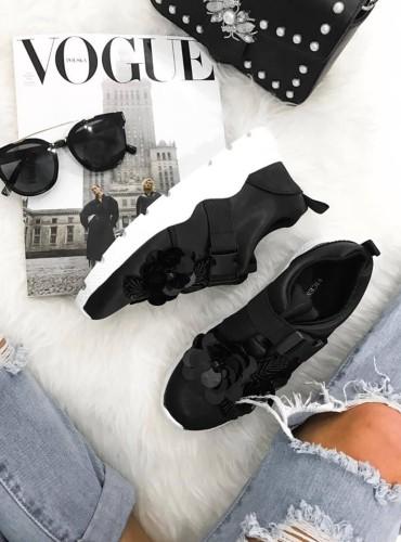 Sneakersy Flovers - czarne