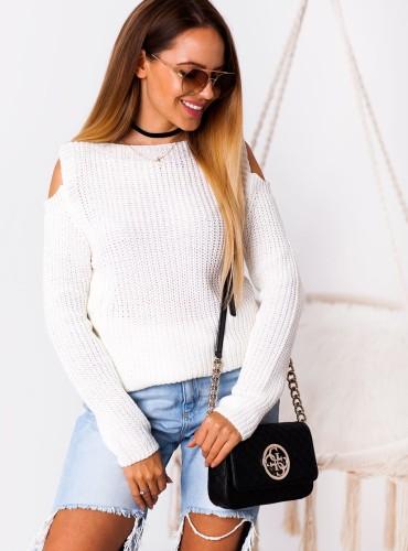 Sweterek LORA - kremowy