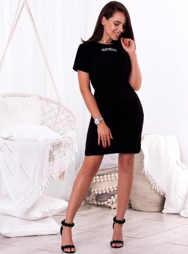 Sukienka HEARTBREAKER - czarna