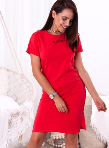 Sukienka HEARTBREAKER - czerwona