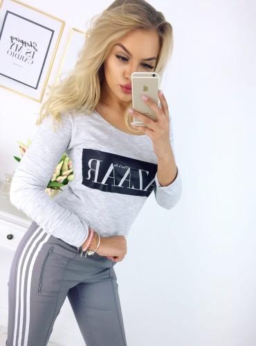 bluzka BAZAAR - szara