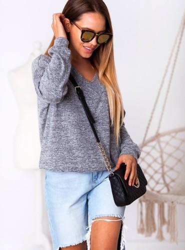 Sweterek MALIA - szary