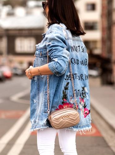 Katana FLOWERS LONG - jeans