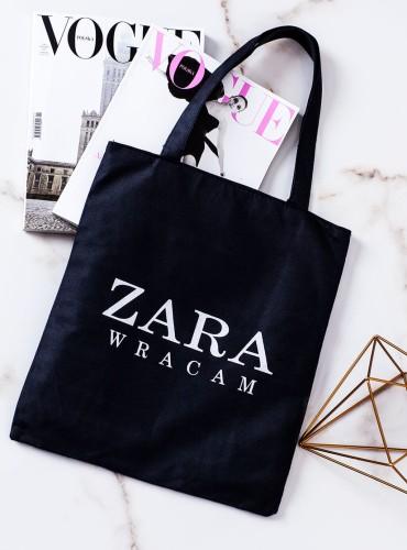 Torba ZARA WRACAM - czarna