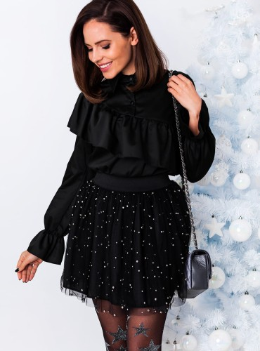 Koszula CHRISTINA - czarna