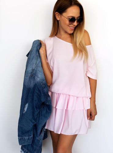Sukienka LONA - baby pink